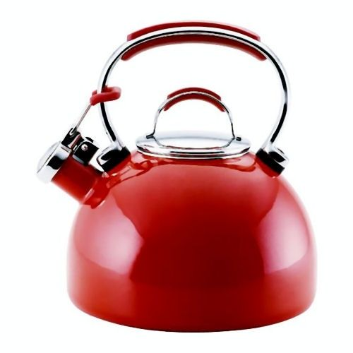 Looking for gorgeous RED kitchen appliances!  KitchenwareDirect  http://www.kitchenwaredirect.com.au/Brands/Essteele/Essteele-1-9L-Kettle-Red