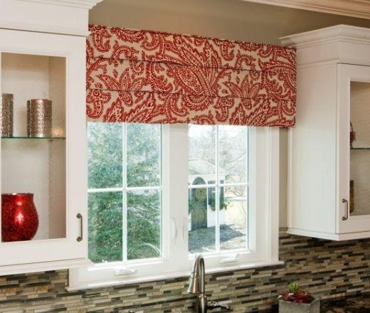 Kitchen Window Wood Valance Ideas: Cornice Board For Window Over Kitchen Sink