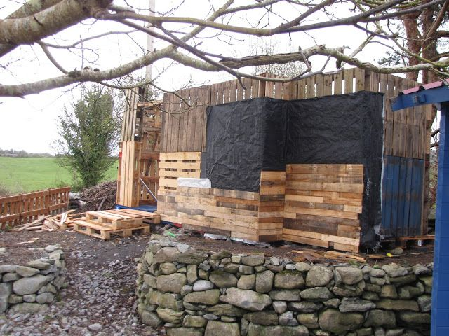 ... DIY Pallet Shed on Pinterest | Pallet wood, Storage sheds and Diy