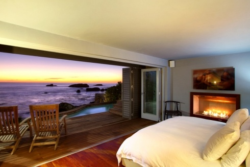 With a view like this, you'd be forgiven for never venturing out of your Seaside Haven bedroom.