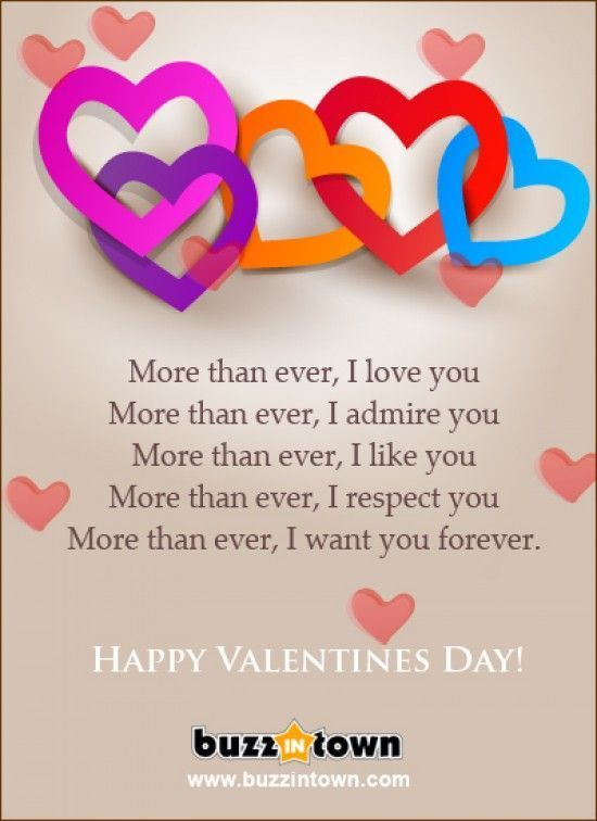 Happy Valentines Day I Love You More Than Ever valentines day valentine's day valentines day quotes happy valentines day happy valentines day quotes happy valentine's day quotes valentine's day quotes valentines day quotes for wife valentines day quotes for boyfriend valentines day quotes for girlfriend valentines day quotes for husband