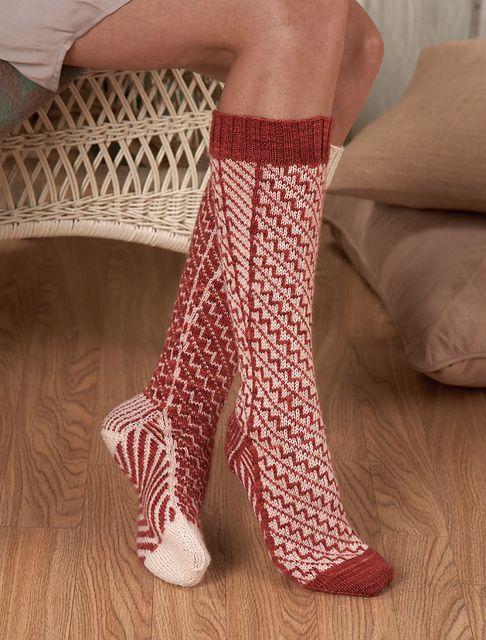 140 best Knitting patterns - socks images on Pinterest | Knit ...