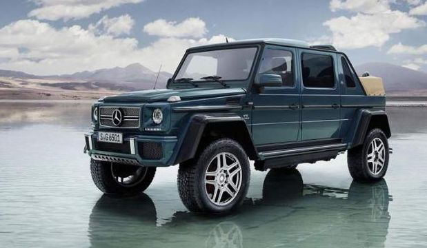 2018 Mercedes Maybach G650 Landaulet Exterior Style Design
