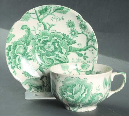 96 best china: transferware-green images on pinterest