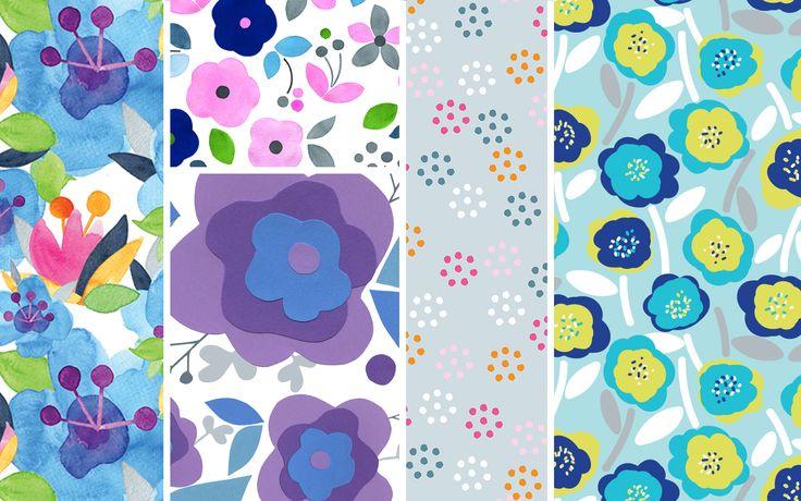 Surface pattern deisgn, art and illustration by Julie Harrison