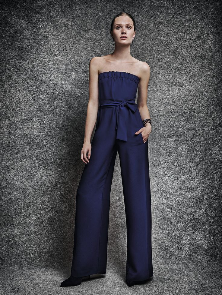 NEW blue YAZZ jumpsuit!  www.yazz.gr #FW17 #newarrivals
