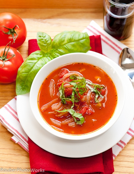 ToMaTo BaSiL VeGeTaBLe SouP | TRieD, TRue & NeW ReCiPeS | Pinterest