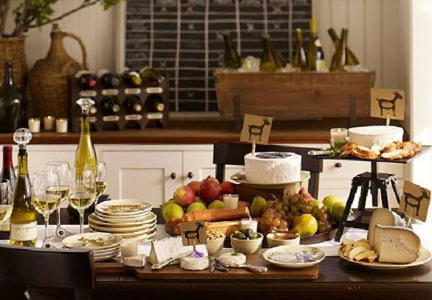 Cheese Table Cheese And Display On Pinterest