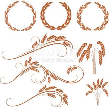 Wheat wreaths
