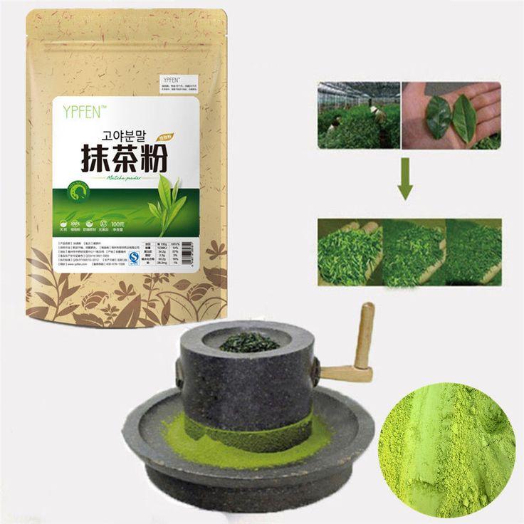 100g Matcha Pulver Grüner Tee Reine Bio-zertifiziert Natürliche Premium Lose SH