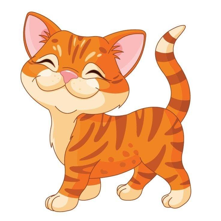 Pin By Mufatakah Kulsum On Assorted Clip Art Some Gifs Cartoon Animals Cat Clipart Kittens Cutest