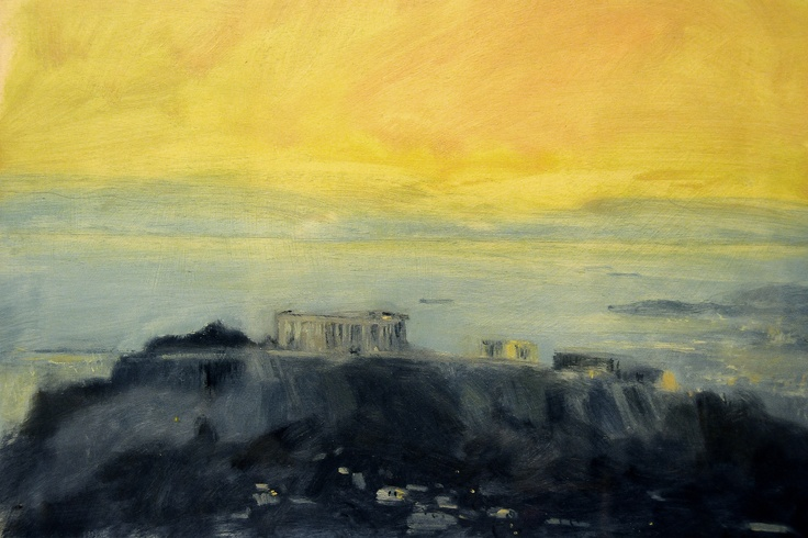 acropolis. by costas dais