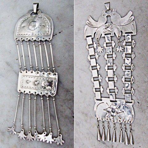 colgantes de alpaca, artesanias mapuches