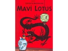 Tenten - 5 / Mavi Lotus - Herge: 9,50 TL