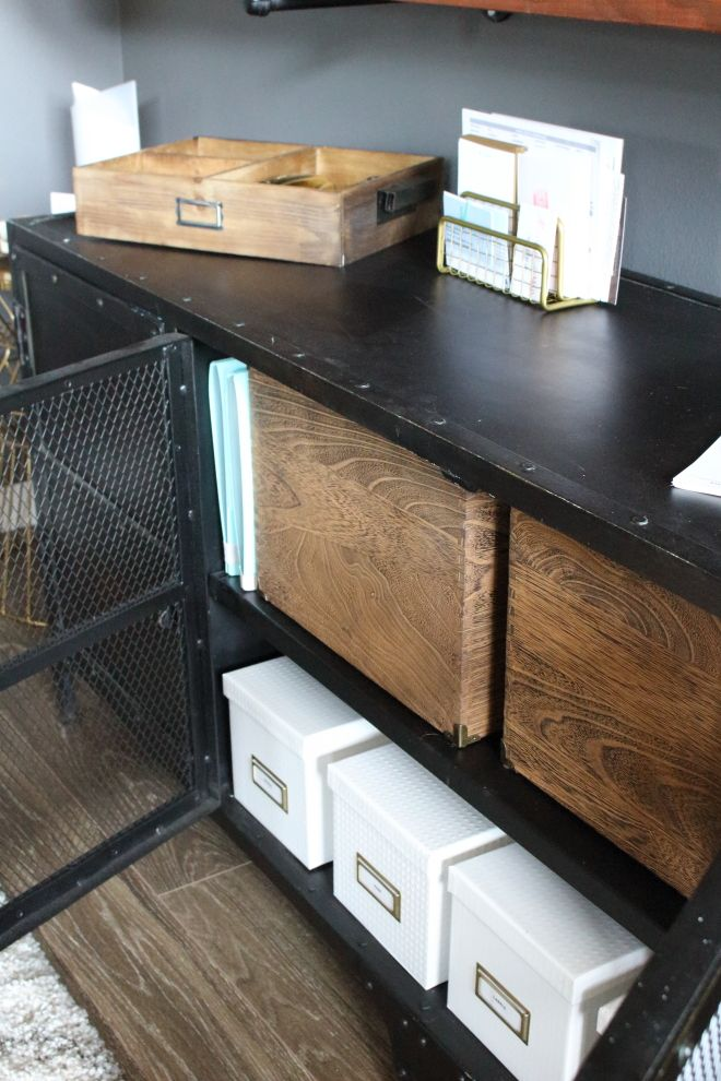 Industrial Office Storage from Restoration Hardware | Modish and Main