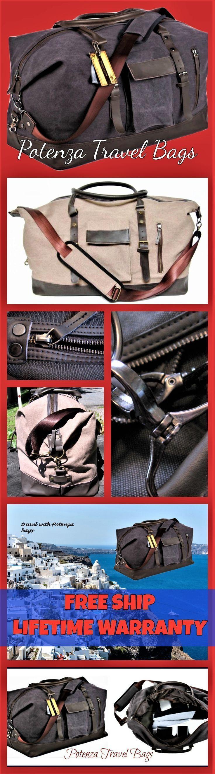 Duffle bags travel bags for men women, Leather duffle bag, large Can be used as a duffle bag travel bag or ovenight bag. #Travelbagsforwomen
