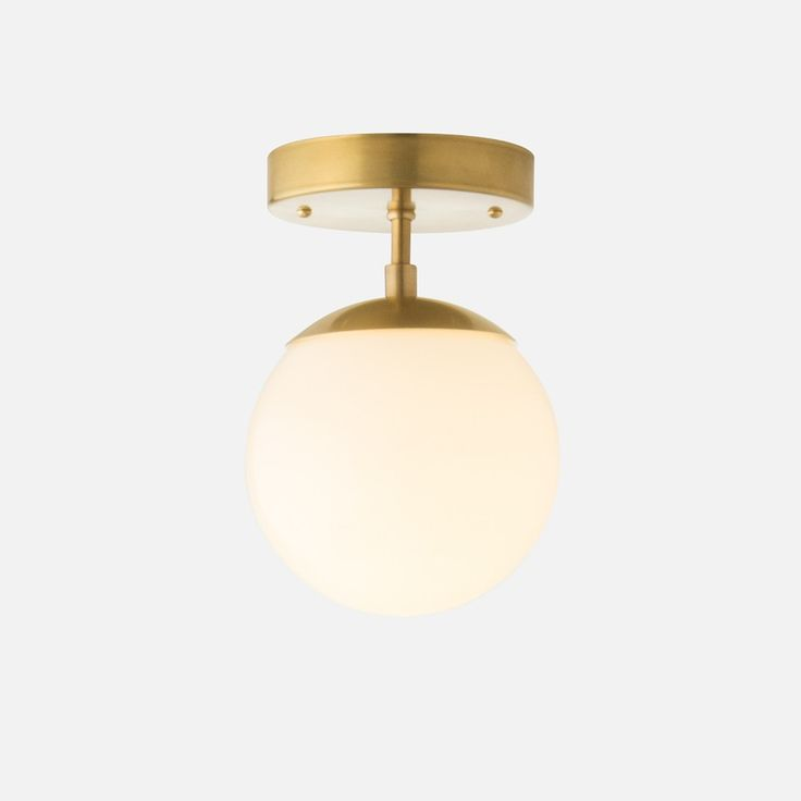 A petite adaptation of our classic Luna Collection, the Nova emits that same ambient glow on a smaller scale. Minimalist construction is juxtaposed with basic shapes for a form that transcends time, giving a gentle nod to the lighting found in midcentury powder rooms and eateries.  Suspended from a slender rod, the glowing globe shade of this fixture makes it a charming candidate anywhere a soft, warm illumination is desired. The combination of modest scale and low profile make the Nova…