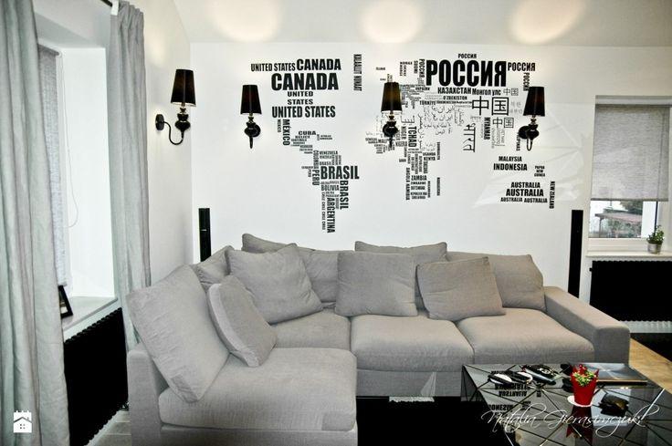 Salon styl Nowoczesny - zdjęcie od NATALIA GIERASIMCZUK - ARCHITEKT WNĘTRZ - Salon - Styl Nowoczesny - NATALIA GIERASIMCZUK - ARCHITEKT WNĘTRZ