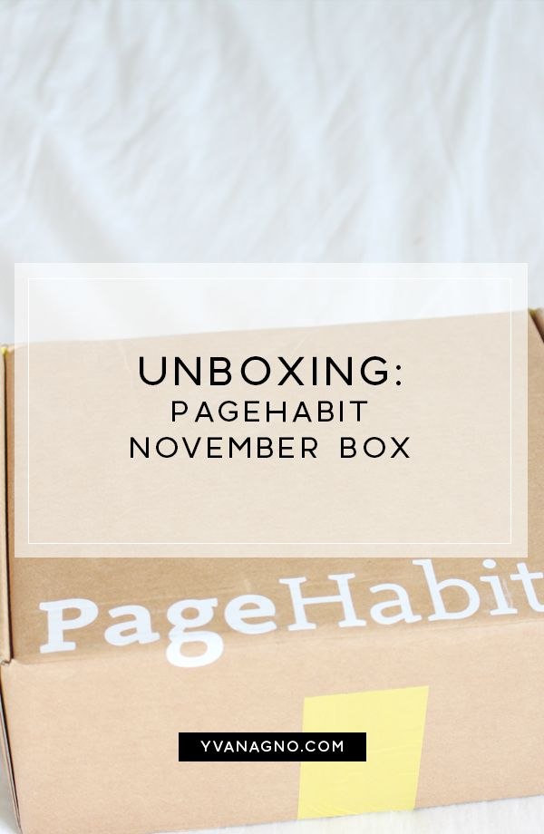 BLOGMAS | UNBOXING: Pagehabit November Box  #yxe #yxeblogger #blogmas #blogmas2017 #saskatoon #blogger #bloggers #blog #unboxing #pagehabit #mypagehabit #books #book #reading #bookblogger #bookbloggers