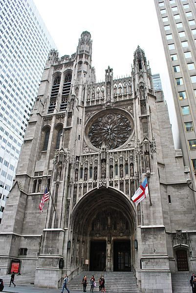 Saint Thomas Church, New York City, 1905–1913, Ralph Adams ...