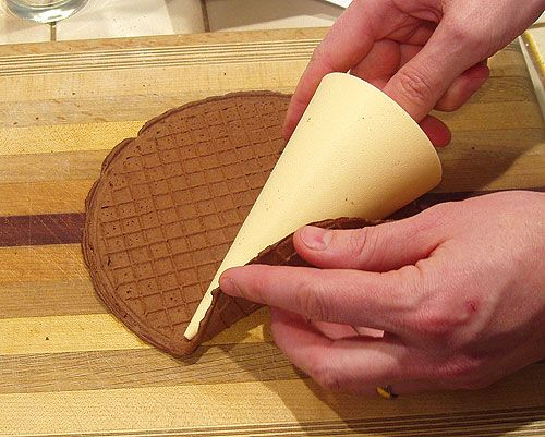 how to make stroopwafels without a pizzelle iron