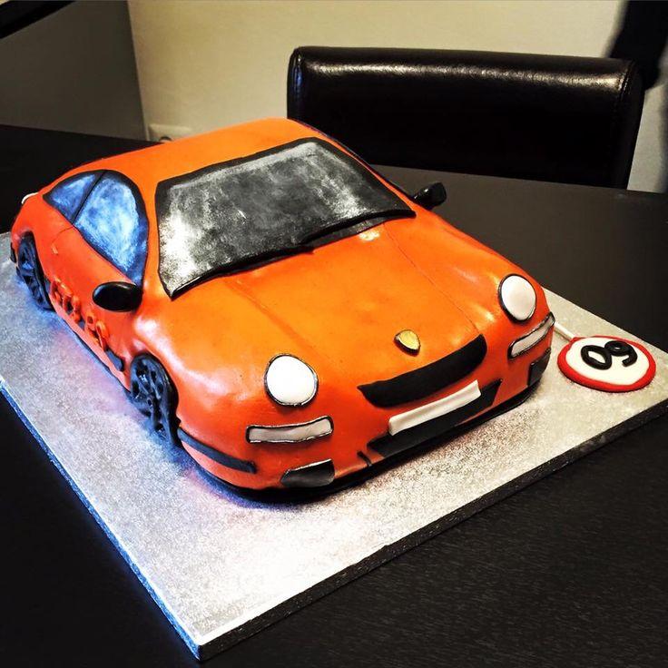 Torta Porsche