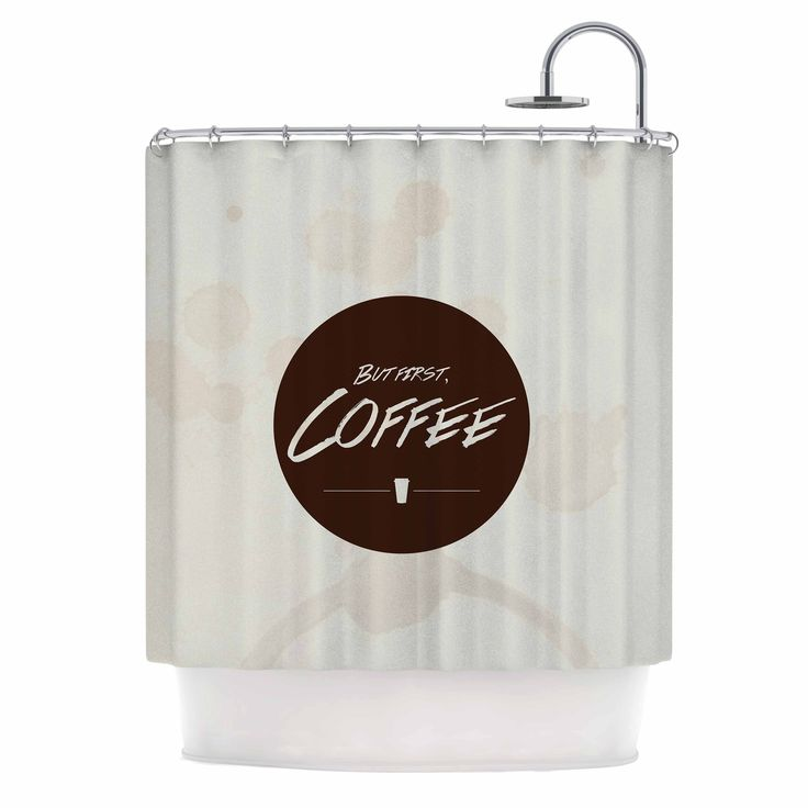 beige and brown shower curtain. Juan Paolo  But First Coffee Beige Brown Shower Curtain Best 25 shower curtains ideas on Pinterest