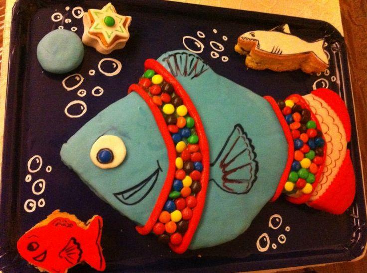 Torta pesce - fish cake