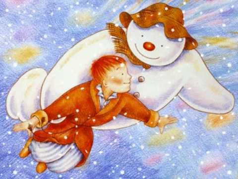 De Sneeuwman, aan het einde van deze tekenfilm van het verhaal wordt kerst gevierd