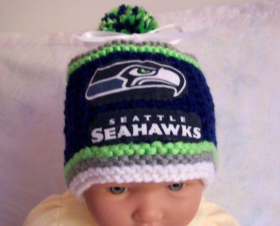 New Handmade Crochet Seattle Seahawks Baby By Blesslittleangel ff9822d0b63