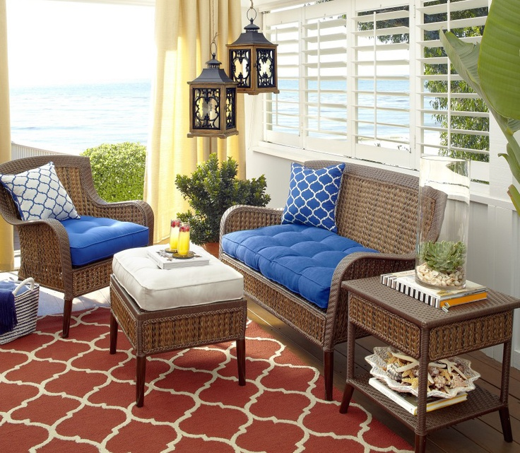 It's easy to enjoy the rugged, textural look of our Antigua Bay Collection