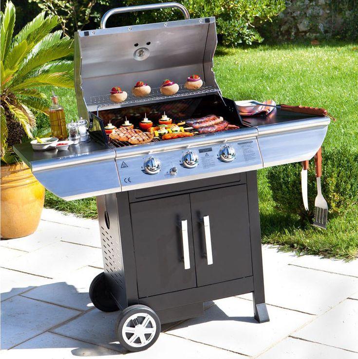Barbecue à gaz QUESADA Hespéride prix promo La Redoute 341.00 € TTC au lieu de 444.00 €
