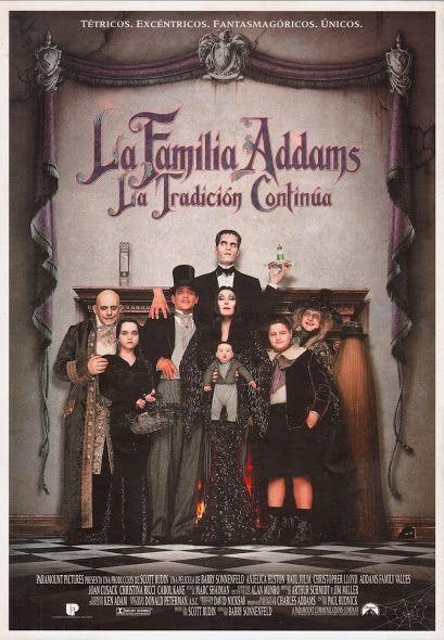 La familia Addams. La tradición continúa es una película de cine dirigida por: Barry Sonnenfeld. Interpretada por: Anjelica Huston, Raúl Julia, Christopher Lloyd, Christina Ricci, Joan Cusack, Carol Kane, Nathan Lane,