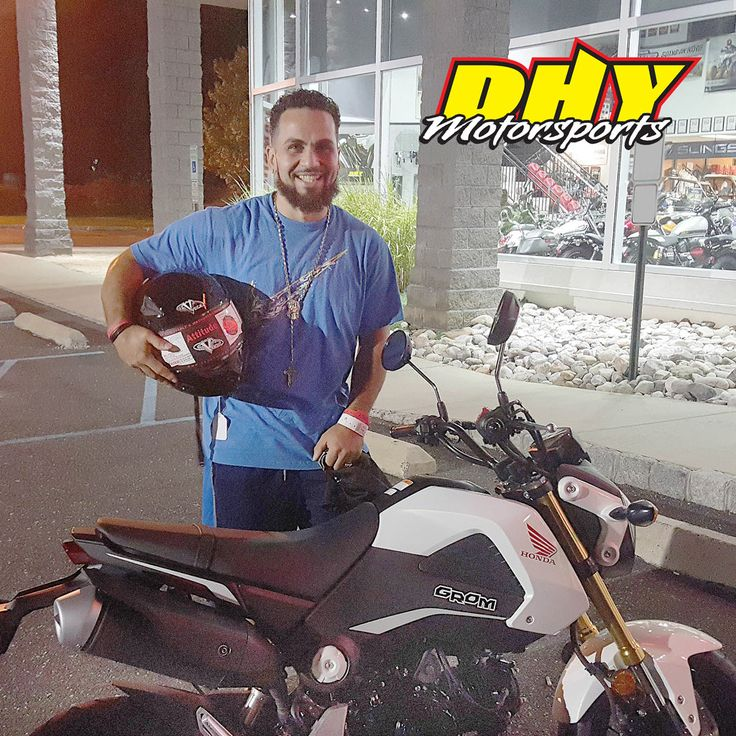 Congratulations to Jose from #Lindenwold #NJ on his purchase of this 2015 #Honda #Grom #125F Enjoy more smiles and all of the fun. Thank you for making your purchase at #DHYMotorsports #mynewride #dhynj