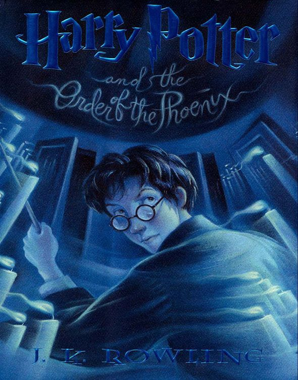 Harry Potter 5 Harry Potter And The Order Of The Phoenix J K Rowling Mary Grandpre Harry Potter Order Harry Potter Book Worth Reading