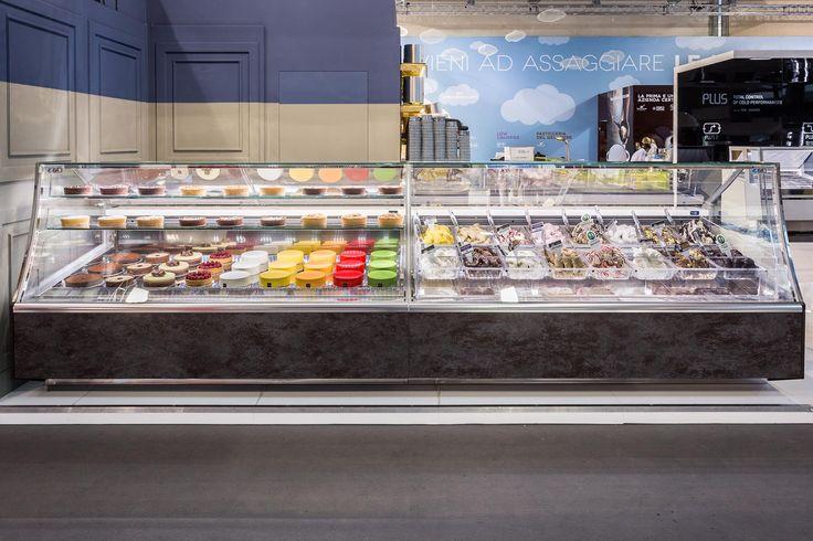 Pagoda Gelato & Pastry  #ISA #icecream #gelato #pastry #foodandbeverage #Sigep #Rimini #Italy #Madeinitaly #displaycabinet #bar #design #pastry