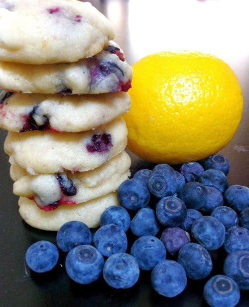 Blueberry Lemon Cookies - These are delicious! I wish I had a picnic to take them to right now. The great thing is, there are so many different possibilities to add to the base recipe. They would also be really yummy with a cream cheese frosting..