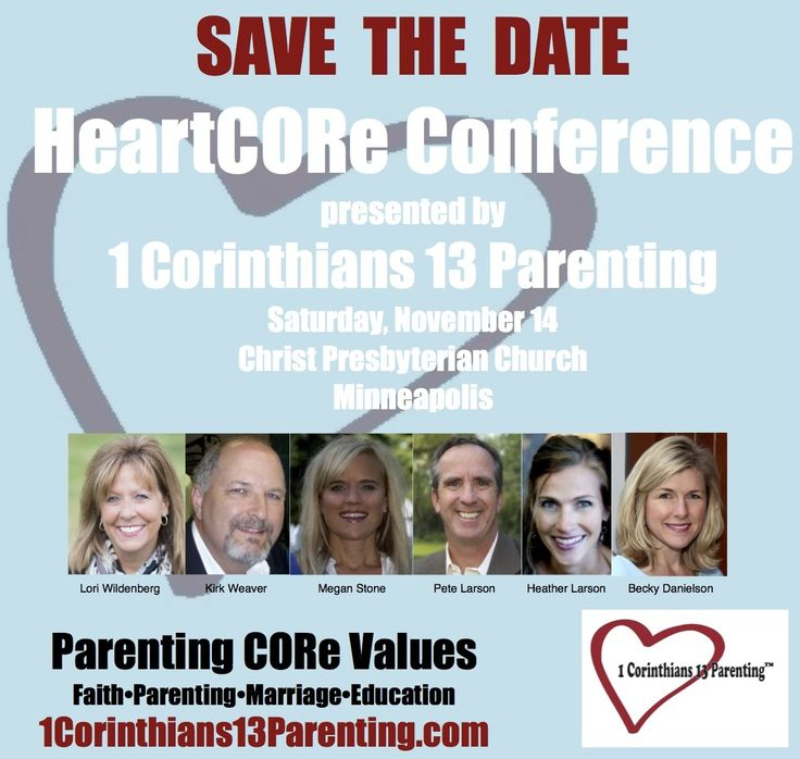 HeartCORe Conference #HCC15 Mpls Nov. 14, 2015  Family, Faith, Parenting, Single Parenting, Marriage registration begins 10/1