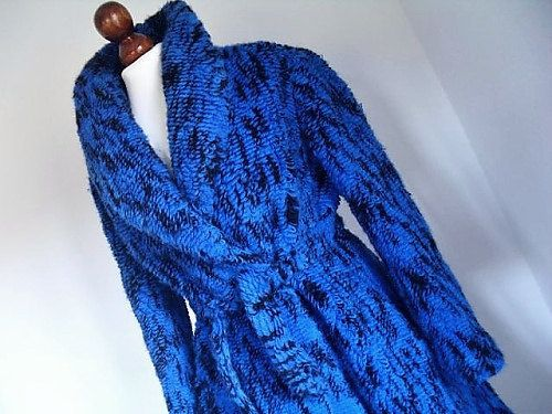 ROBERTA Di CAMERINO . Amazing Wool Knit Coat . by thingsofsplendor, $685.00