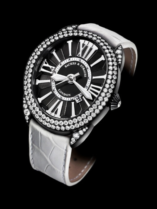 The Regent Diamond Knight, a monochrome masterpiece lit with the fire and brilliance of 141 diamonds - Discover more on www.backesandstrauss.com