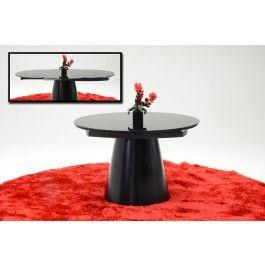 Savor Modern Round Black Dining Table - 995.0000