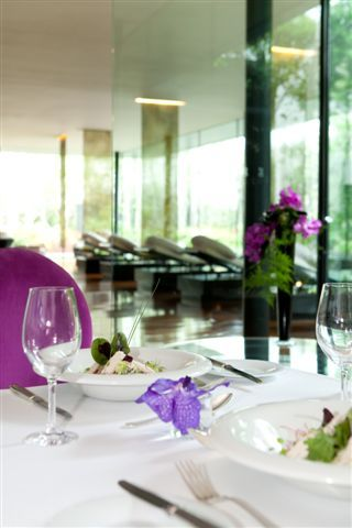 Healthy lunch at ESPA at the g hotel Galway