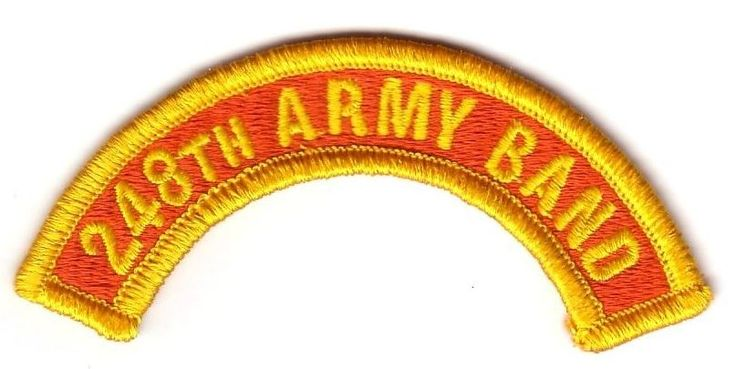 248th ARMY BAND (Fabrication Actuelle)