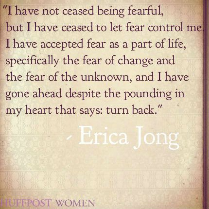 Personal essay on fear