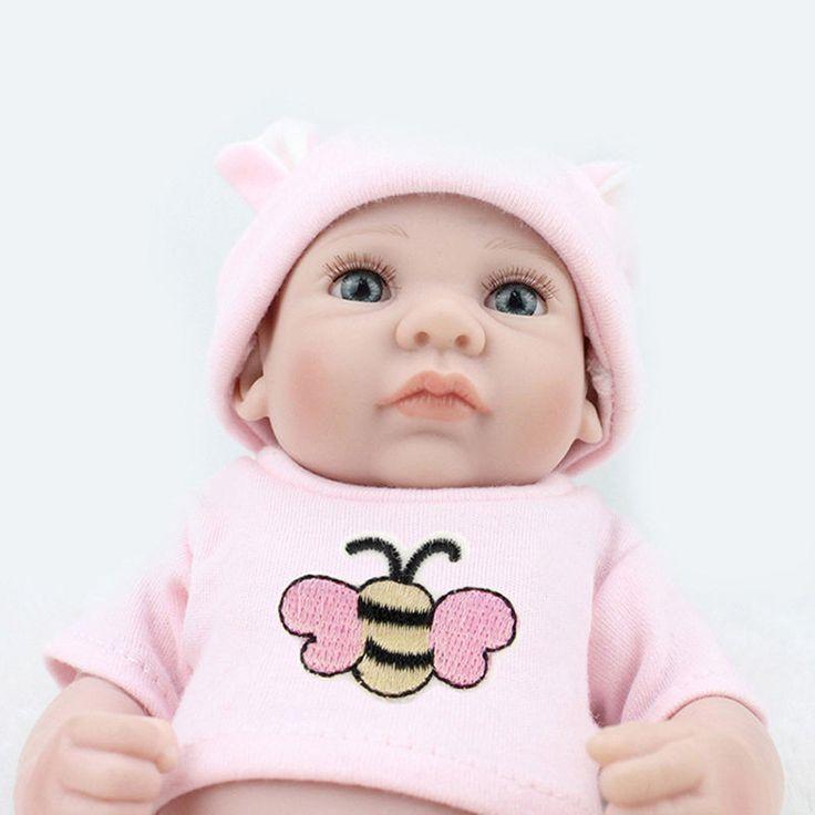 "Reborn Baby Dolls Vinyl Handmade Realistic Baby Dolls Lifelike Boy Doll 11""   eBay"
