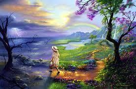 Possano i fiori accompagnare il tuo cammino  e la luce del sole illuminar la tua giornata.  Possano i canti degli uccelli   rallegra...