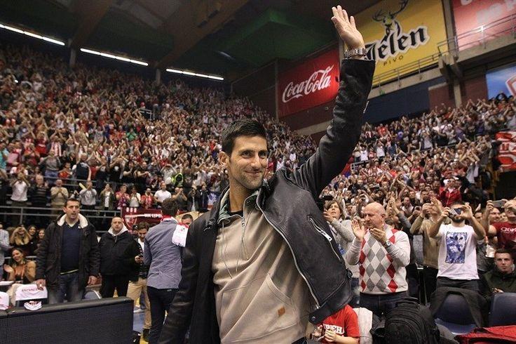 Novak Djokovic cheers Serbian squad Red Star Belgrade to victory over Zagreb - http://www.sportsrageous.com/tennis/novak-djokovic-cheers-serbian-squad-red-star-belgrade-to-victory-over-zagreb/8023/