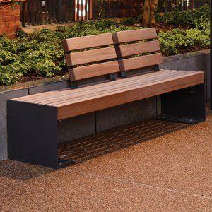 Ingleby Contemporary Seat · Street Furniture