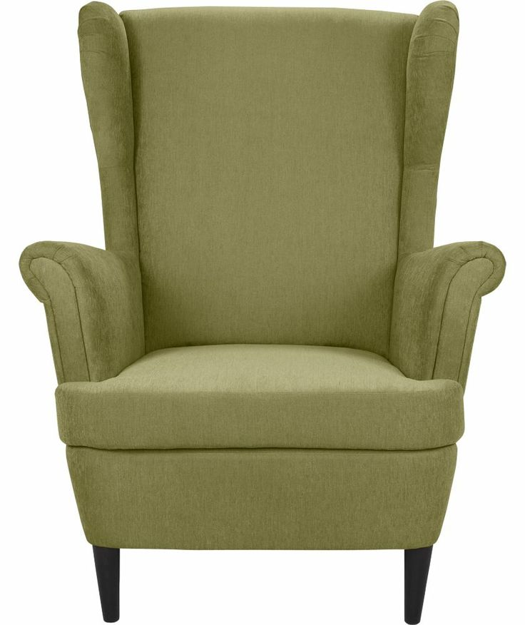 Buy Wingback Fabric Chair - Green at Argos.co.uk - Your ...