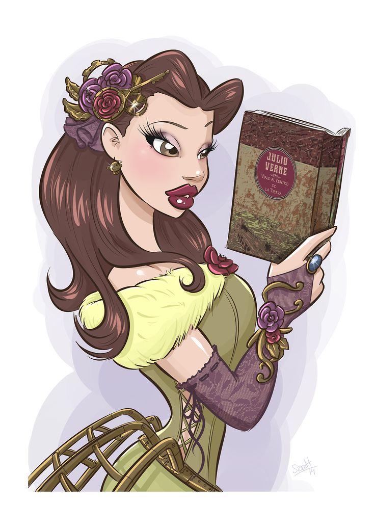Steampunk Tendencies | Cinderella, Bella, Ariel... Steampunk by SaraH Con Hache…